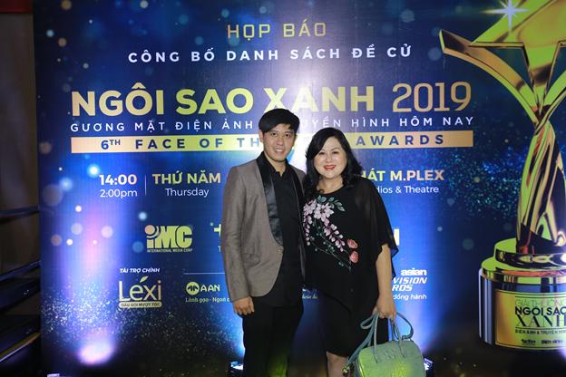 Đạo diễn Lê Anh Trung và ca sĩ Yaly Trần